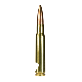 LUCKY SHOT 50 CAL BULLET BOTTLE OPENER